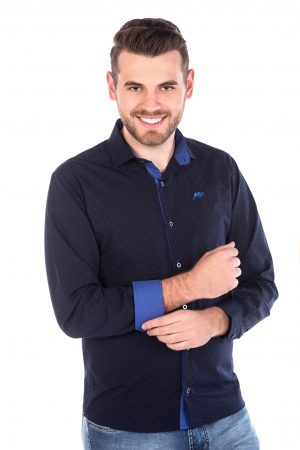 Camisa Argali Azul Marinho