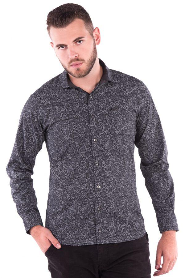 Camisa Slim Fit Argali Falklands ML - Estampado Floral