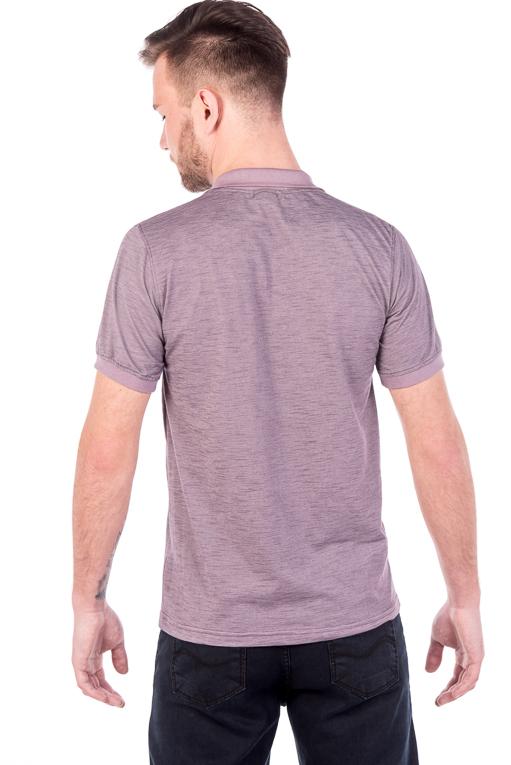 Polo Lilás Estilo (costas)