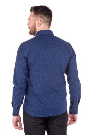 Camisa Slim Argali Kauai Azul One (costas)