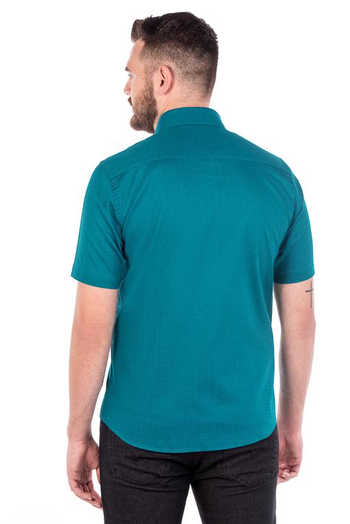 Camisa Argali Kauai Manga Curta Verde (costas)