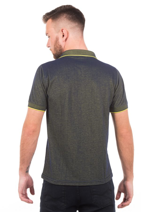 Polo Argali Casual Fit Verde Esporte (costas)