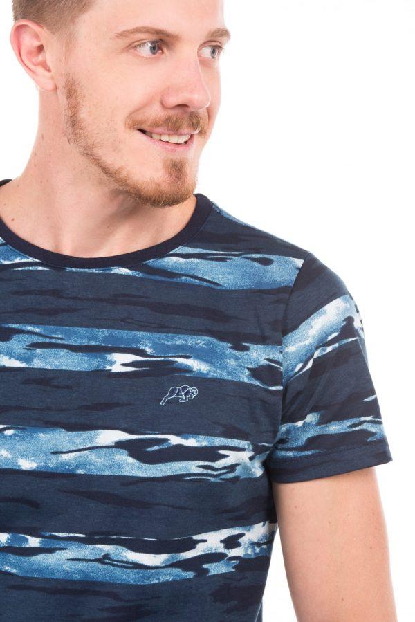 Camiseta Argali Volcano Azul Stout