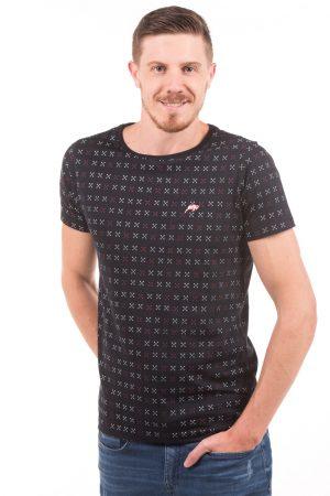 Camiseta Argali Volcano Preto Flecha X