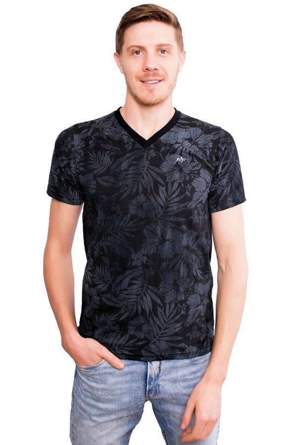 Camiseta Argali Altai Floral Preto Sober
