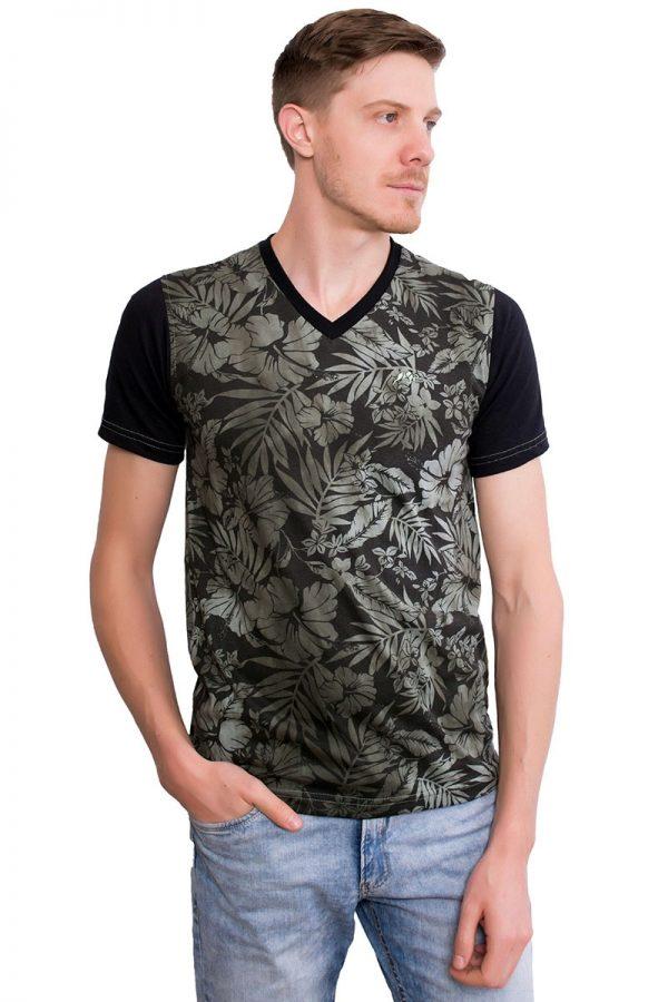 Camiseta Argali Altai Floral Nature (frente)