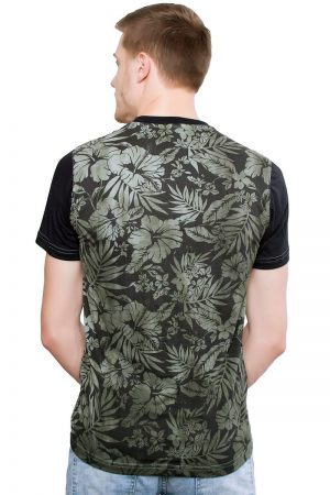 Camiseta Argali Altai Floral Nature (costas)