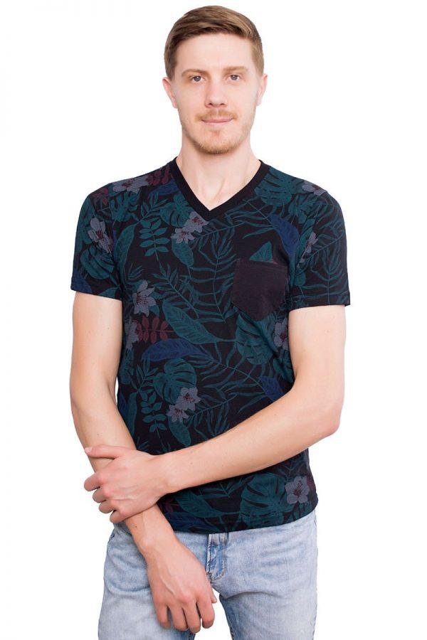 Camiseta Argali Altai Floral Primavera (frente)