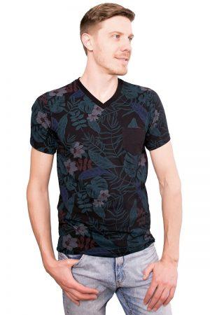 Camiseta Argali Altai Floral Primavera (lado)