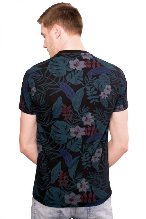Camiseta Argali Altai Floral Primavera (costas)