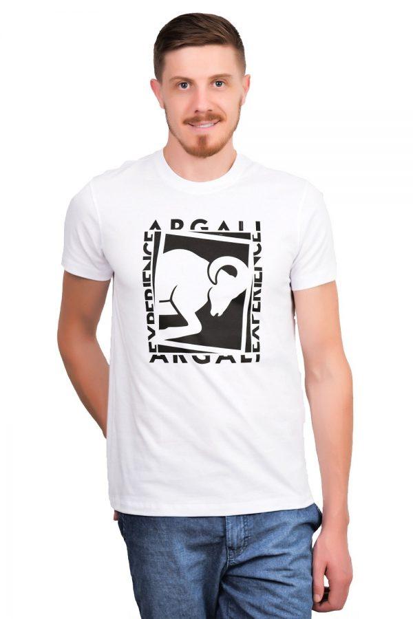 Camiseta Argali Prime Experience Branca (frente)