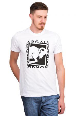 Camiseta Argali Prime Experience Branca (lado)