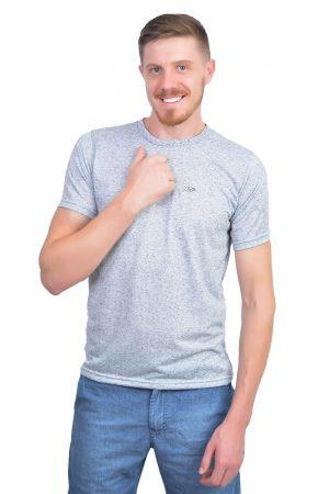 Camiseta Argali Altai Cinza Mescla (frente)
