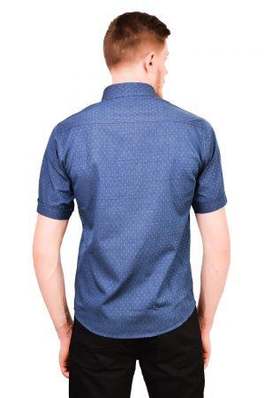 Camisa Manga Curta Argali Falklands Azul Real (costas)