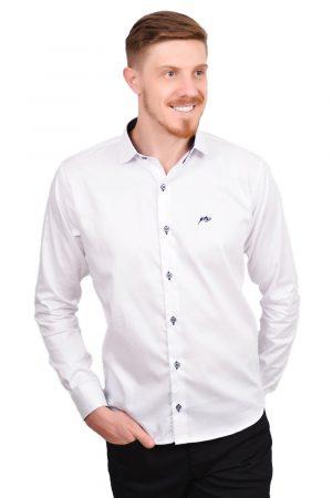 Camisa Argali Falklands Branco Esporte (lado)