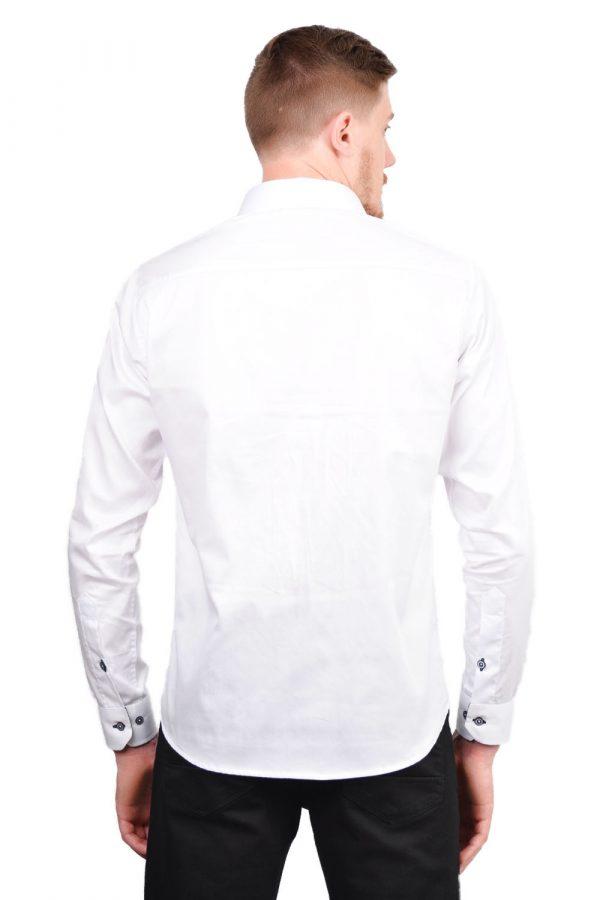 Camisa Argali Falklands Branco Esporte (costas)