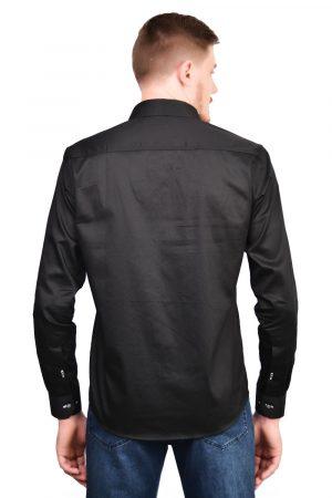Camisa Argali Falklands True Black (costas)