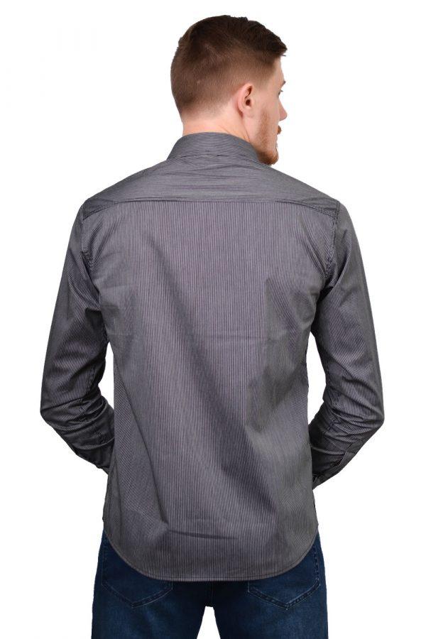 Camisa Argali Falklands Fiz Cinza Confort (costas)