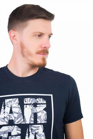 Camiseta Argali Prime True XP Azul (detalhe)