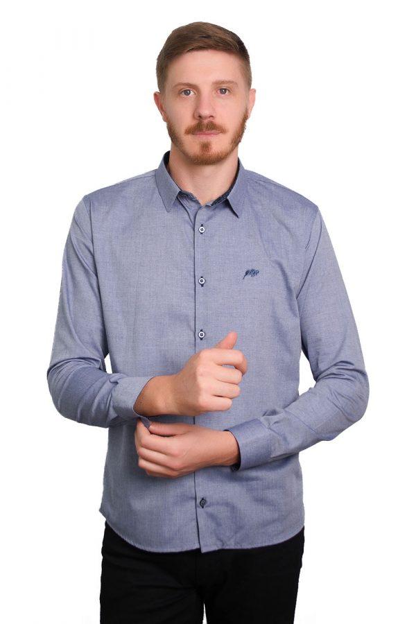 Camisa Argali Falklands Blue Jeans (frente)