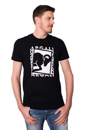 Camiseta Argali Prime Experience Preta (lado)