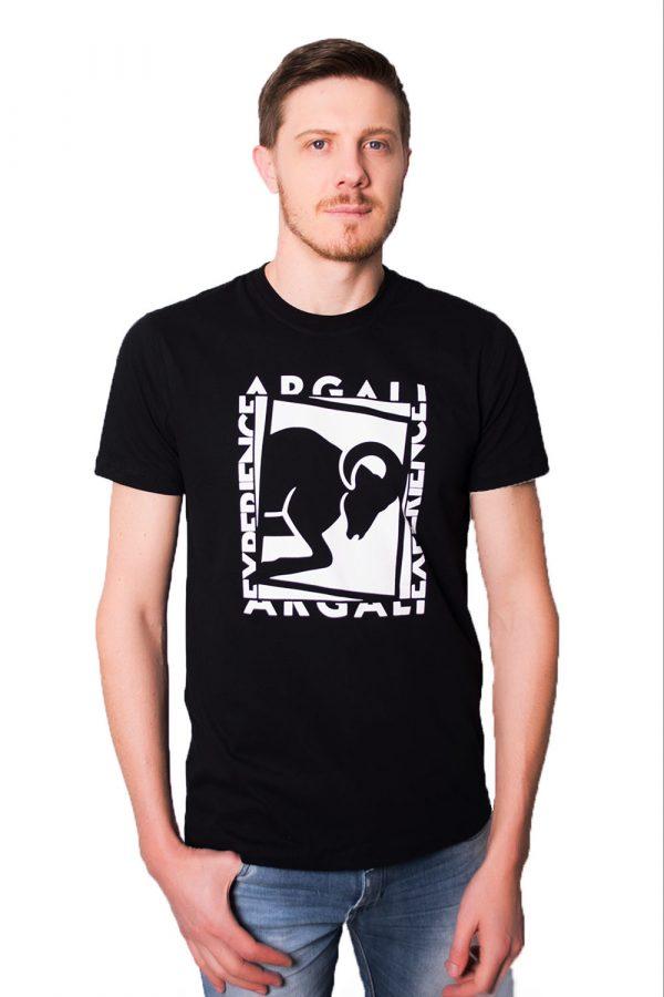 Camiseta Argali Prime Experience Preta (frente)