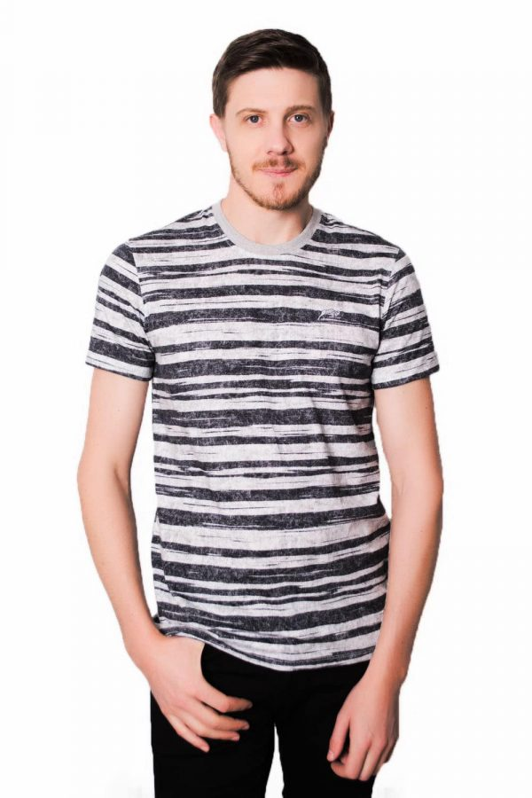 Camiseta Argali Black Stripes (frente)