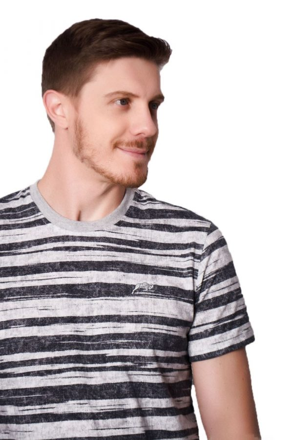 Camiseta Argali Black Stripes (detalhe)