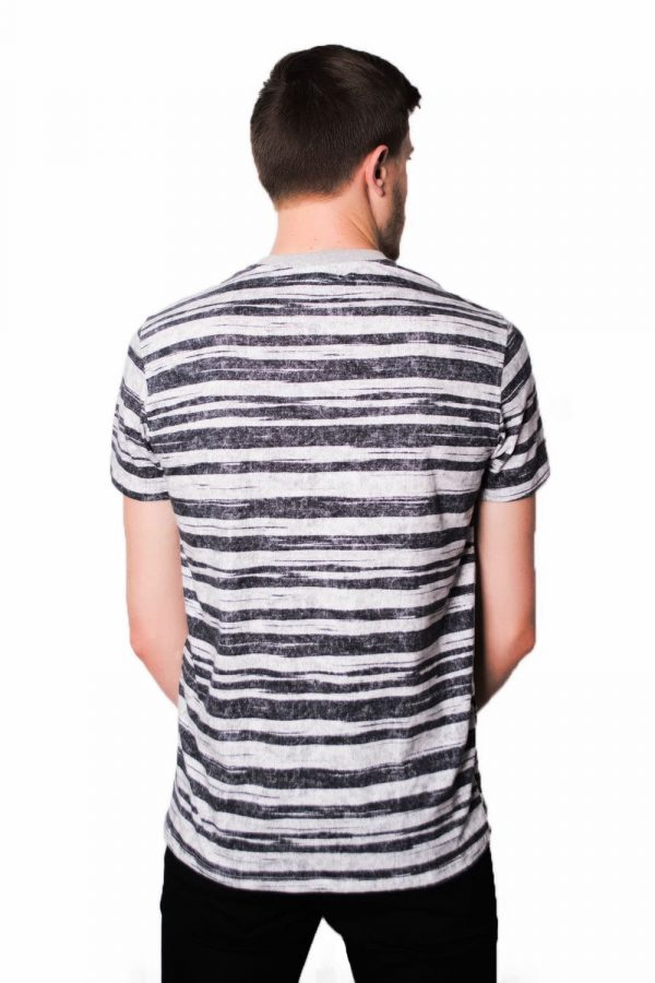 Camiseta Argali Black Stripes (costas)