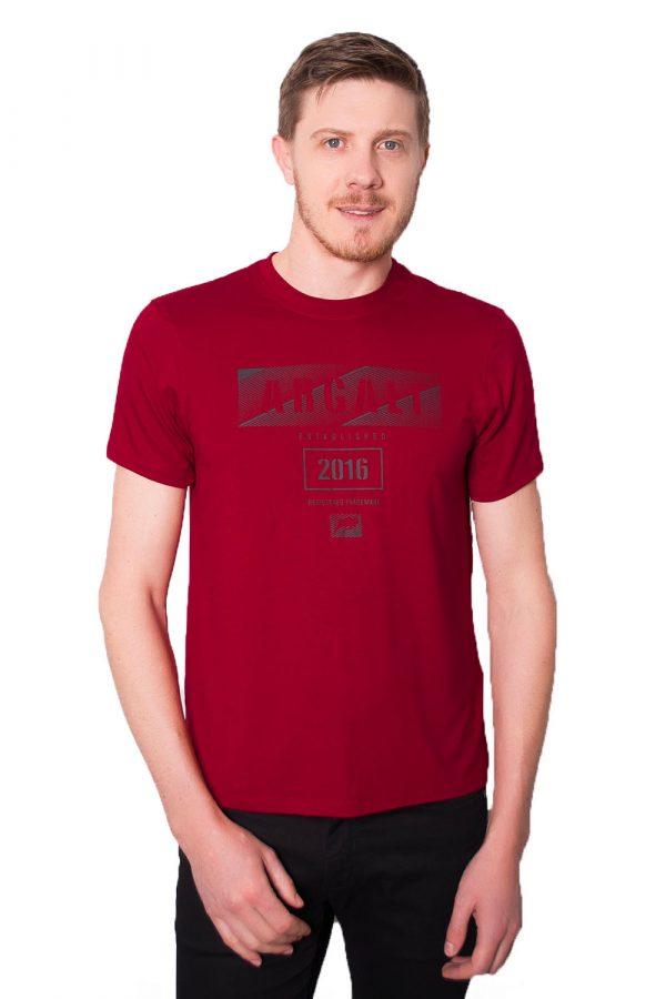 Camiseta Argali Prime Print Vermelho (frente)