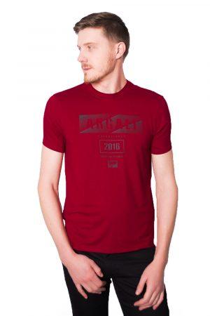 Camiseta Argali Prime Print Vermelho (lado)