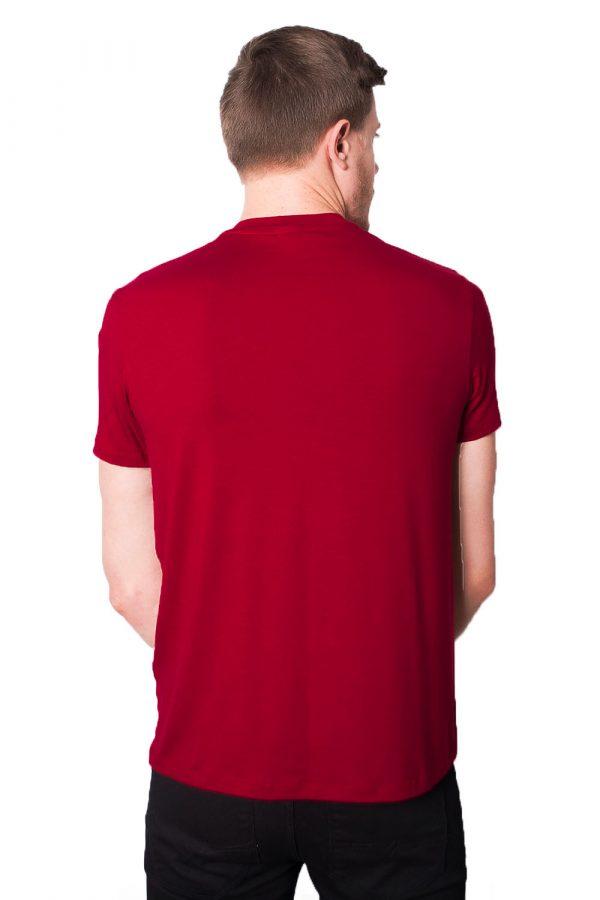 Camiseta Argali Prime Print Vermelho (costas)