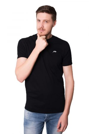 Camiseta Argali Prime Basic Preta (lado)