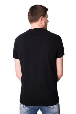 Camiseta Argali Prime Basic Preta (costas)