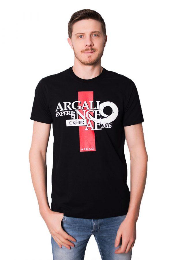 Camiseta Argali CXJ Preta (frente)