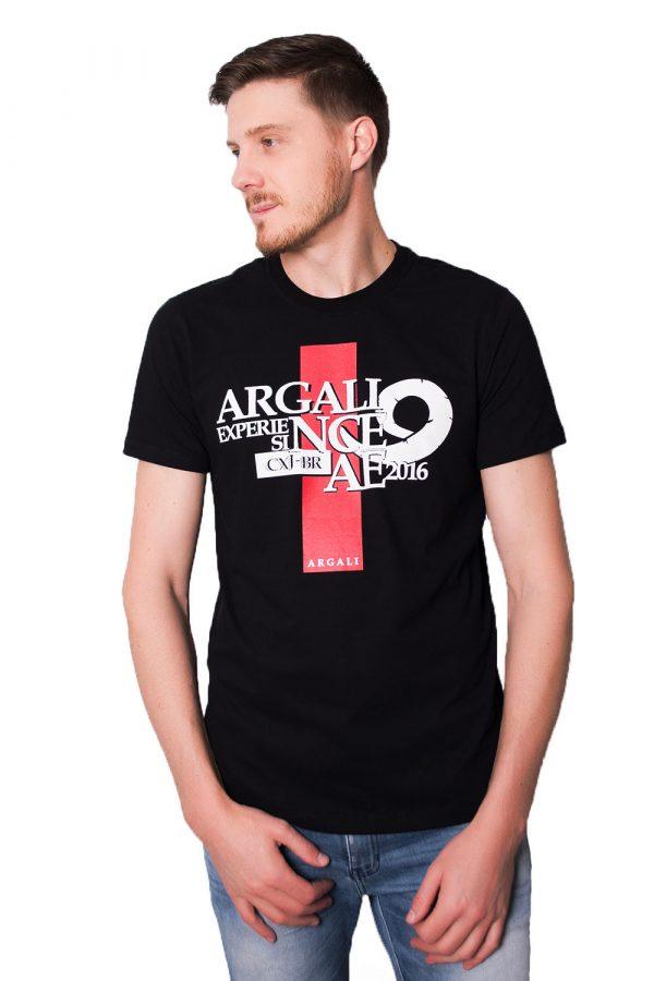 Camiseta Argali CXJ Preta (lado)