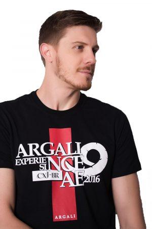 Camiseta Argali CXJ Preta (detalhe)