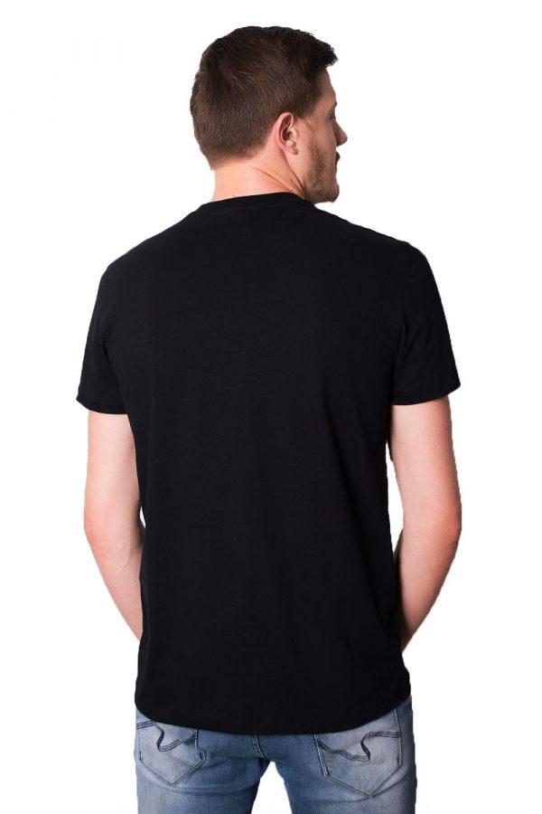 Camiseta Argali CXJ Preta (costas)