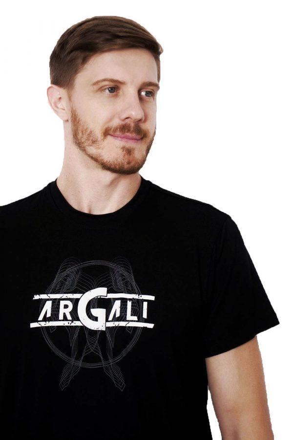 Camiseta Argali Prime Preto Vitruviano (detalhe)