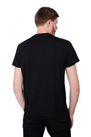 Camiseta Argali Prime Preto Vitruviano (costas)
