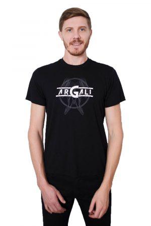 Camiseta Argali Prime Preto Vitruviano (frente2)