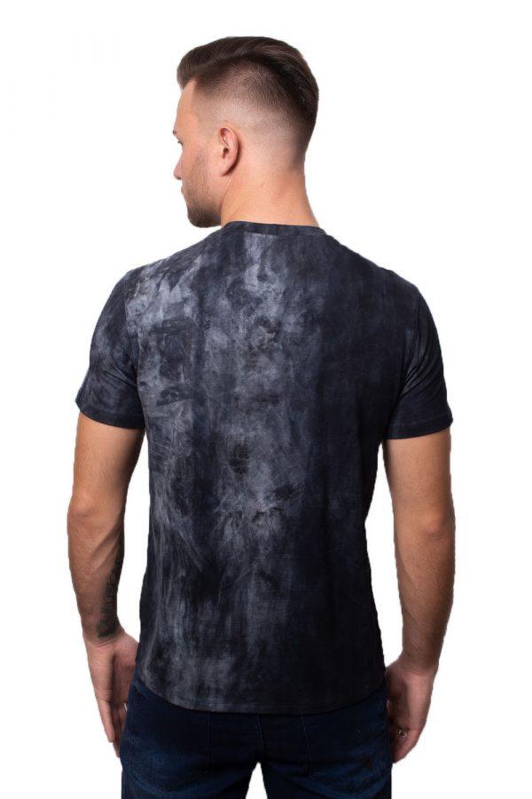Camiseta Argali Prime Tie Dye Marinho (costas)
