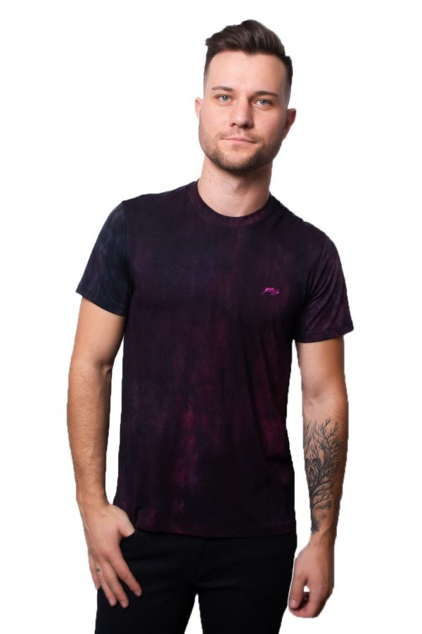 Camiseta Argali Prime Tie Dye Roxo (frente)