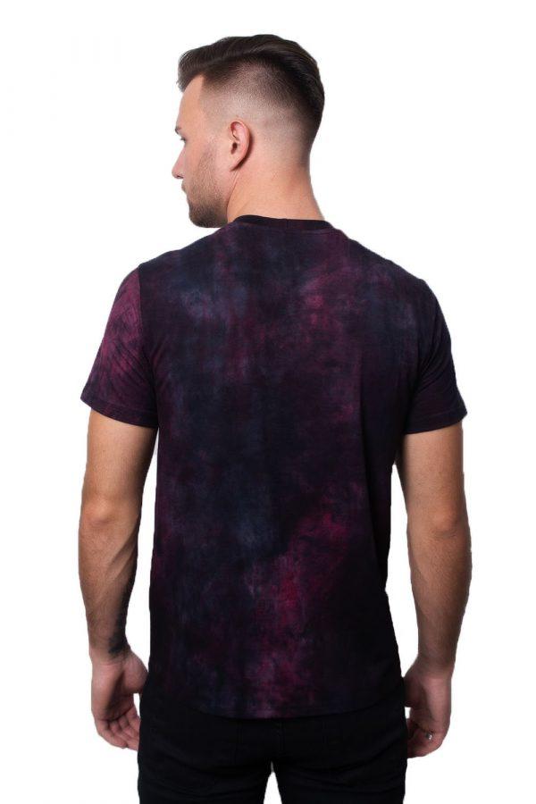 Camiseta Argali Prime Tie Dye Roxo (costas)